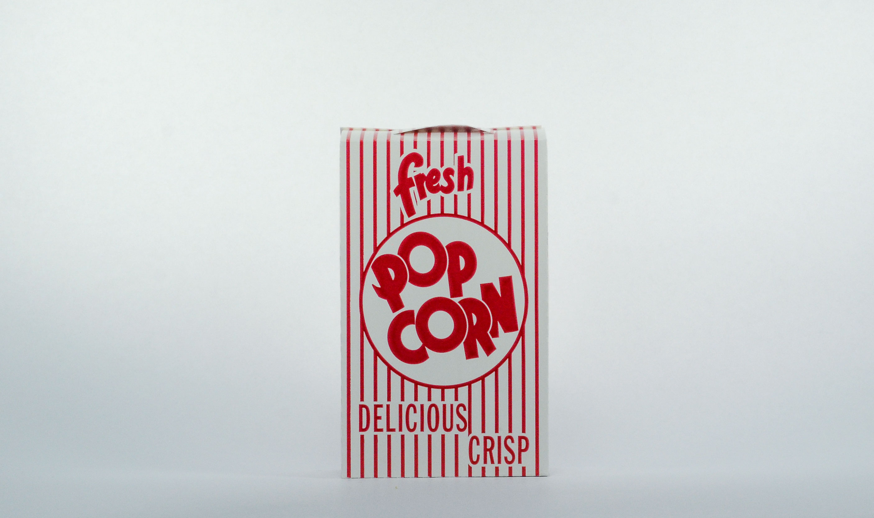 pre-packaged 1 once buttery popcorn box