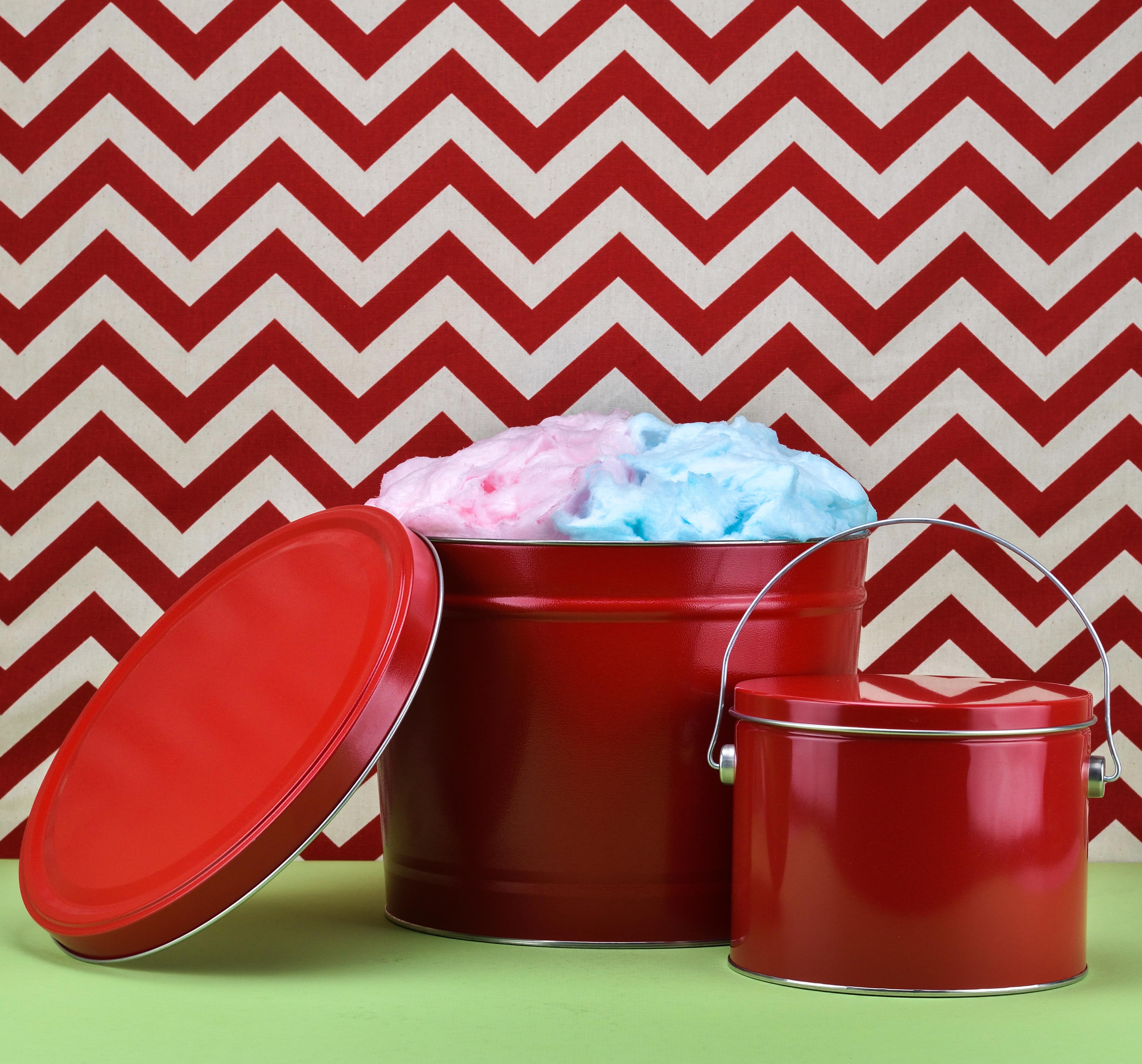Large & Small Cotton Candy Tins