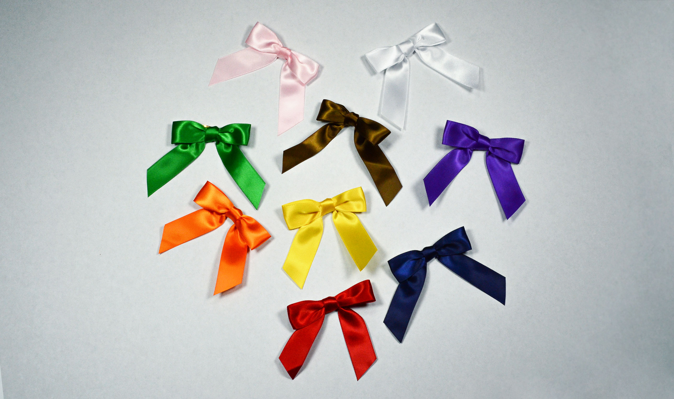 3 inch Color Satin Bows